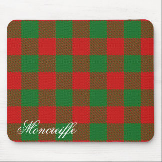 Majestic Scottish Clan Moncreiffe Tartan Mouse Pad