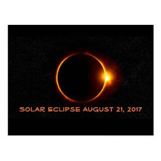 Majestic Solar Eclipse August 2017 Postcard