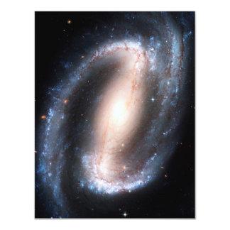 Majestic Spiral Galaxy Print Milky Way Andromeda 11 Cm X 14 Cm Invitation Card