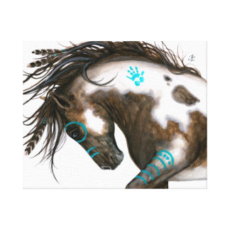 Majestic Spirit Horse Art BiHrle Canvas Print