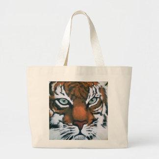 Majestic Tiger Large Tote Bag
