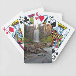 Majestic Tumalo Falls in Central Oregon USA Bicycle Playing Cards