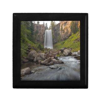 Majestic Tumalo Falls in Central Oregon USA Gift Box