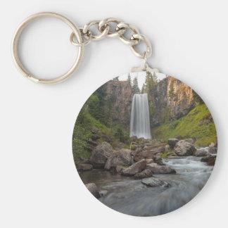 Majestic Tumalo Falls in Central Oregon USA Key Ring