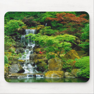 """Majestic Water Fallwater fall"""" Mouse Pad"""