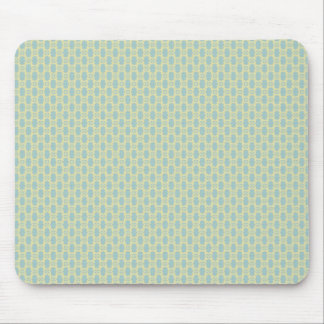 Majestic white flowers on rough light blue backgro mousepads