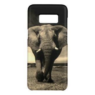Majestic Wild Bull Elephant in Sepia Case-Mate Samsung Galaxy S8 Case