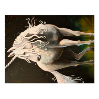 Majesty the Unicorn. Postcard