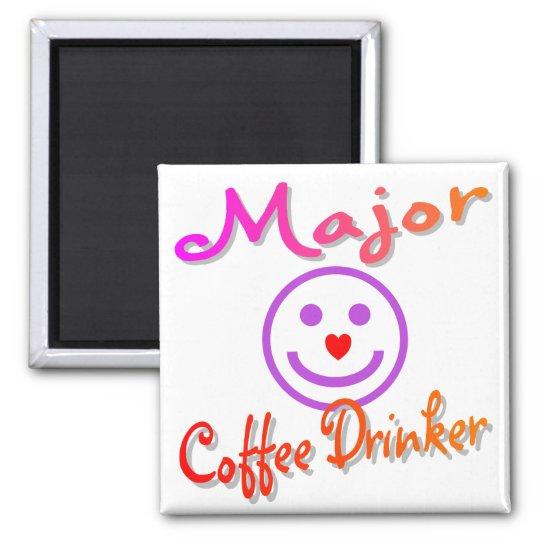 Major Coffee Drinker Magnet