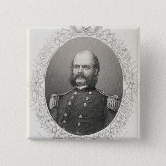 Major General Ambrose Everett Burnside 15 Cm Square Badge
