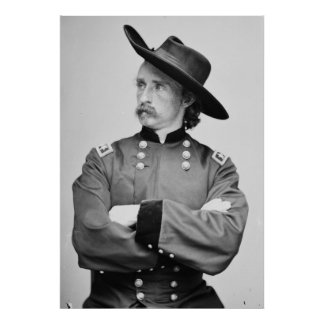 Major General George Armstrong Custer 1865 Posters