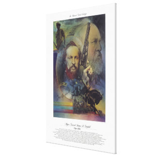 MAJOR GENERAL JAMES A. GARFIELD Citizen Soldier Gallery Wrap Canvas