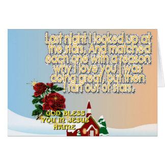 Major Holidays Christmas Greeting Card