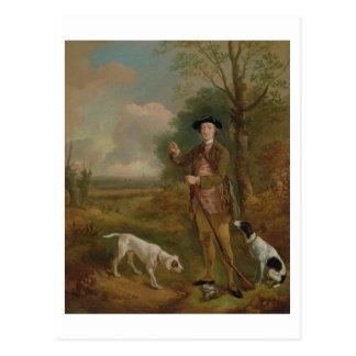 Major John Dade (1726-1811) of Tannington, Suffolk Postcard