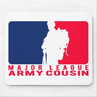 Major League Army Cousin Mouse Pad