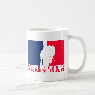 Major League Army Dad Coffee Mug