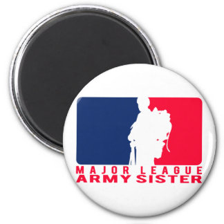 Major League Army Sister Refrigerator Magnets