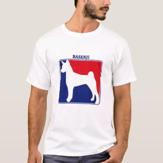 Major League Basenji t-shirt