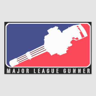MAJOR LEAGUE GUNNER | MINIGUN STICKER