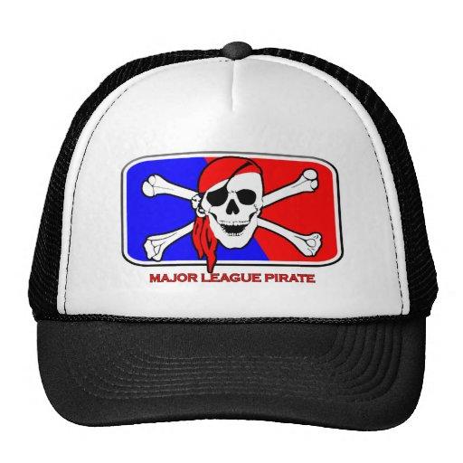 Major League Pirate Trucker Hats