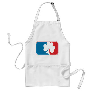 Major League Shamrock - Blue and Red Aprons