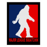 Major League Squatchin Poster