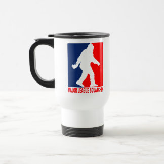 Major League Squatchin Travel Mug