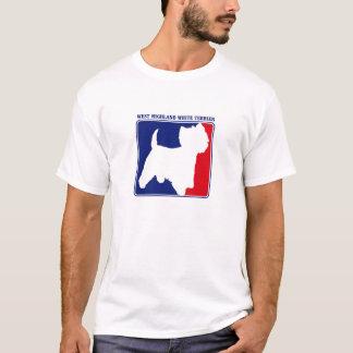 Major League West Highland White Terrier t-shirt