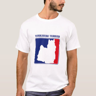 Major League Yorkshire Terrier t-shirt