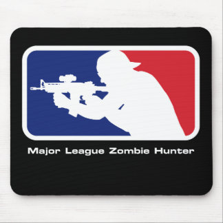 Major League Zombie Hunter - Shooter - Mouse Pad