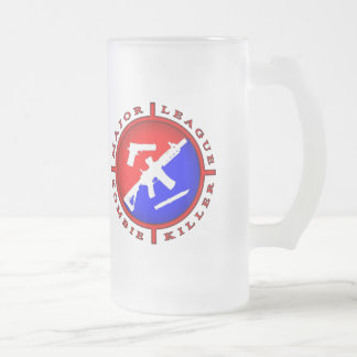 Major League Zombie Killer Logo Mug