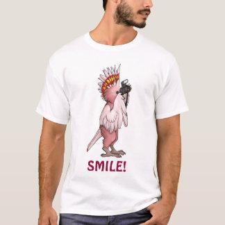 Major Mitchell Cockatoo Smile T-Shirt