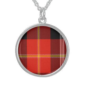 Majoribanks Scottish Tartan Sterling Silver Necklaces