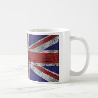 Majority Britain flag on steel sheet Coffee Mug