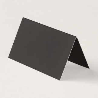 Majorly Handsome Black Colour Business Card