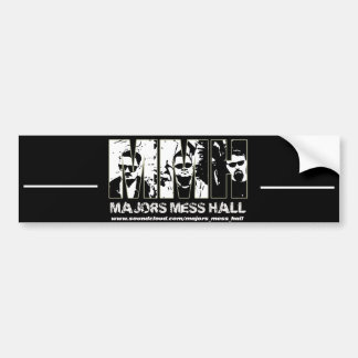 Majors Mess Hall Bumper Sticker