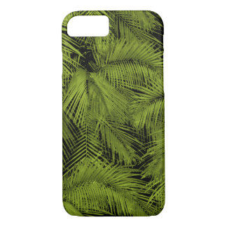 Makana Palms Hawaiian Green Tropical Leaves iPhone 8/7 Case