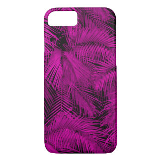 Makana Palms Hawaiian Pink Tropical Leaves iPhone 8/7 Case