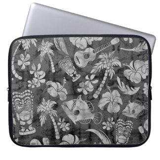 Makapuu Beach Hawaiian Batik Neoprene Wetsuit Laptop Sleeve