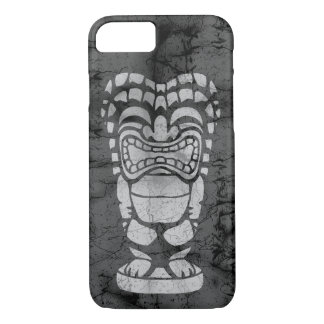 Makapuu Beach Hawaiian Laughing Tiki Batik iPhone 8/7 Case