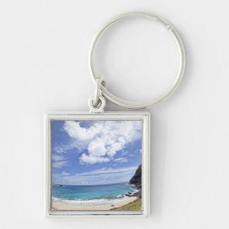 Makapuu Beach in Oahu, Hawaii. Key Ring