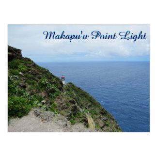 Makapuu Point Lighthouse Hawaii Oahu Ocean View Postcard