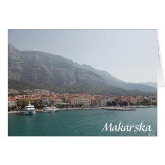 Makarska Card