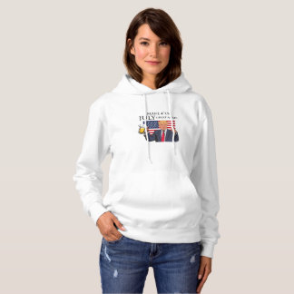 Make 4th of July Great Again  Trump funny Hoodie