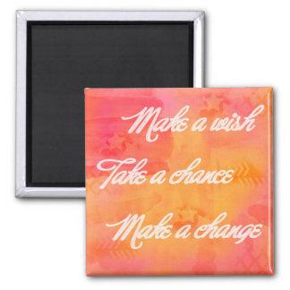 Make a Change Magnet