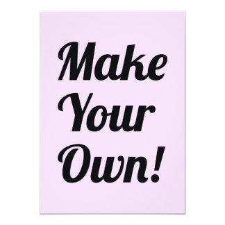 Make a Custom Printed Card 13 Cm X 18 Cm Invitation Card