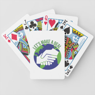 Make A Deal Bicycle Playing Cards