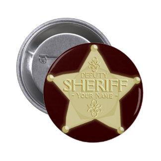 Make a Deputy Sheriff Badge Golden