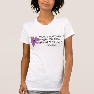 Make A Difference Alzheimer's T-shirt
