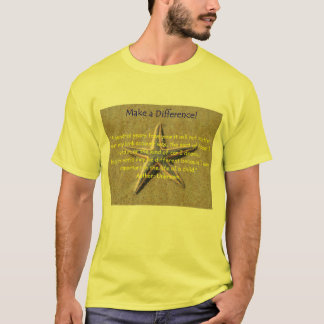 Make a Difference! T-Shirt